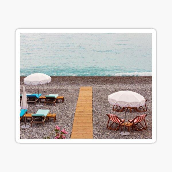 Cote D'azur - Nice, France Sticker