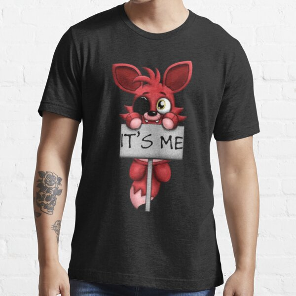 FNAF Five Nights en Freddy Fox Foxy Camiseta esencial