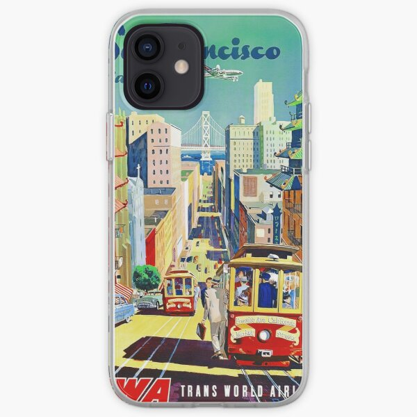 San Francisco Travel Poster iPhone Soft Case