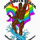 Rehoboth Beach Badeanzug Inspector African von AbbottDesigns