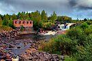 Waterfall Munkfors by Jo Nijenhuis