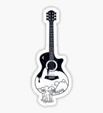 The intriguing sounds of nature Sticker