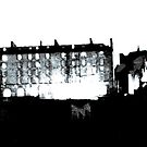 Darkness falls upon a medieval place - Edinburgh  by UniSoul