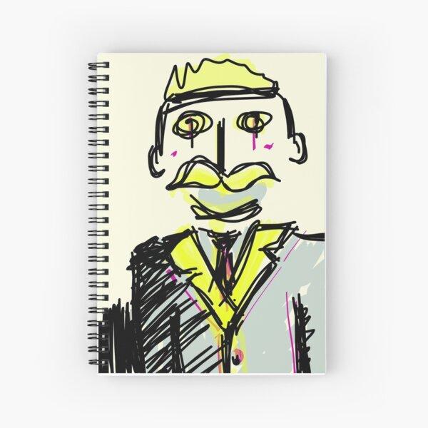 Gentleman Spiral Notebook