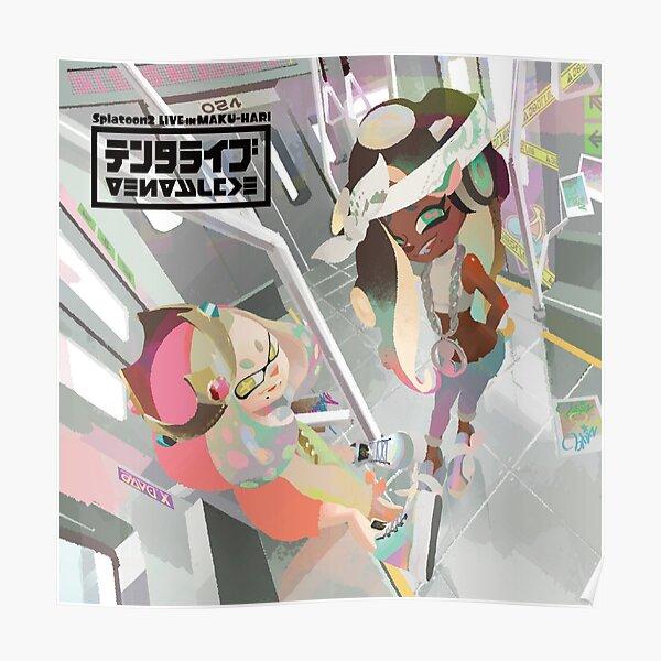 Off The Hook Album Live Concert Splatoon 2 Poster