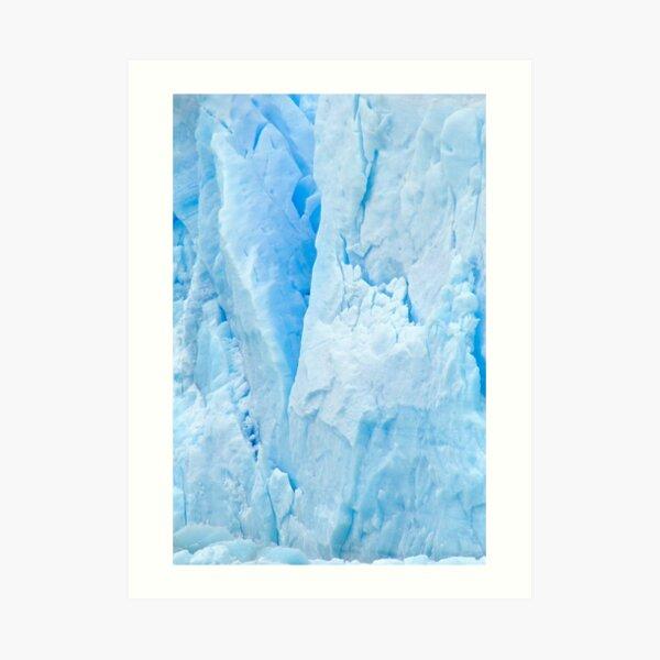 Glacial Abstract Art Print