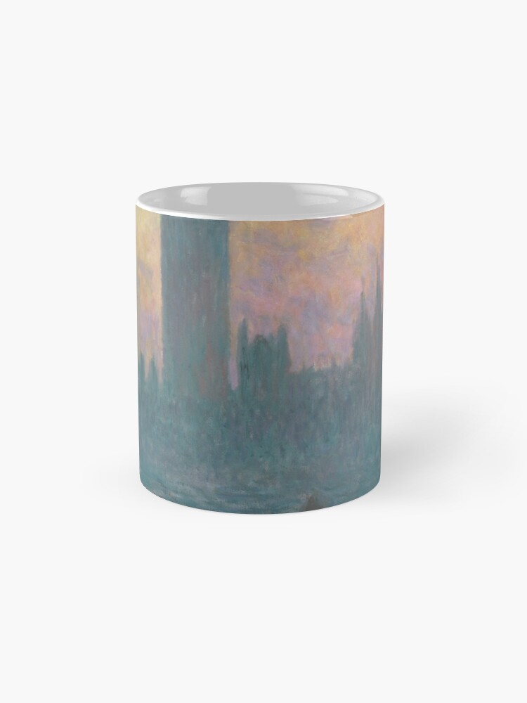 Alternate view of The Houses of Parliament Sunset by Claude Monet Mug