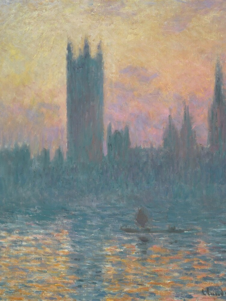The Houses of Parliament Sunset by Claude Monet by podartist