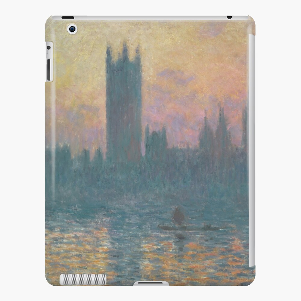 The Houses of Parliament Sunset by Claude Monet iPad Case & Skin