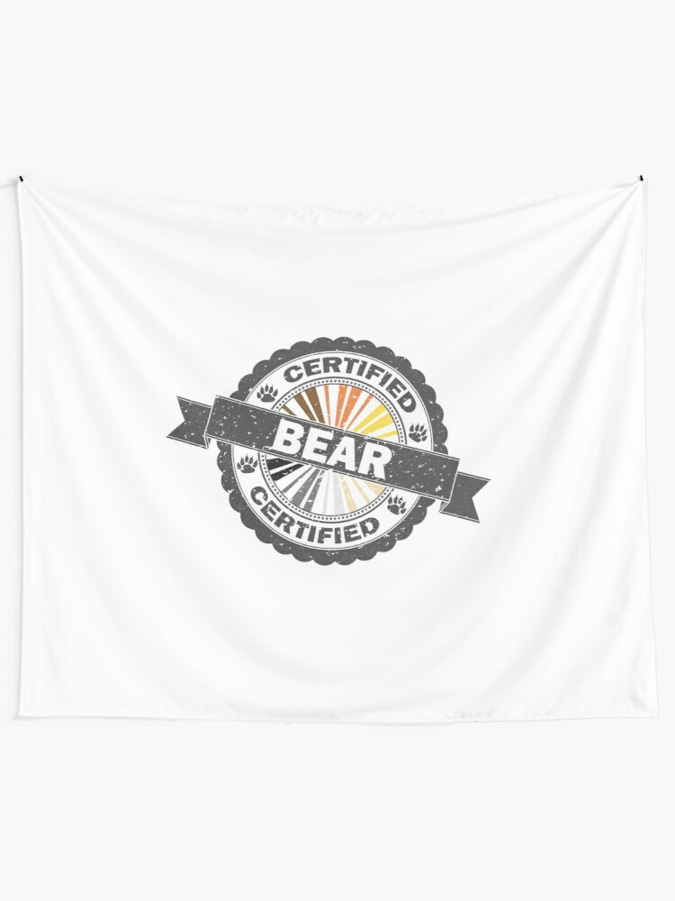 Alternate view of Certified Bear Stamp Tapestry