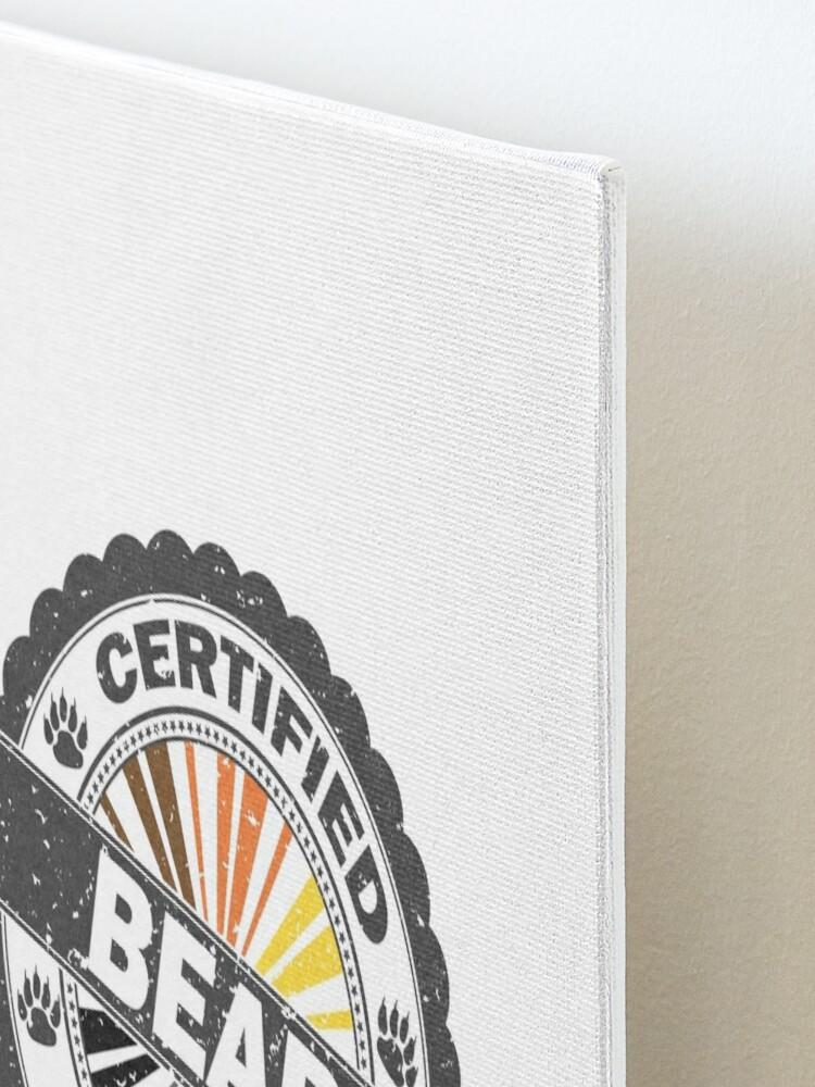Alternate view of Certified Bear Stamp Mounted Print