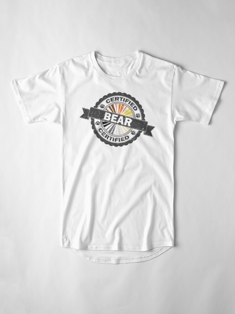 Alternate view of Certified Bear Stamp Long T-Shirt