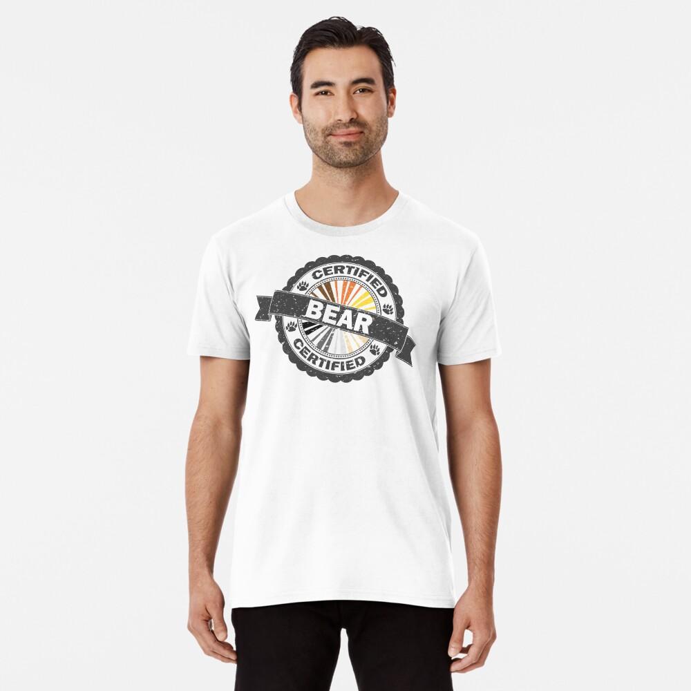 Certified Bear Stamp Premium T-Shirt