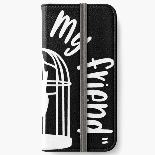 Copy of Stay Strange White iPhone Wallet