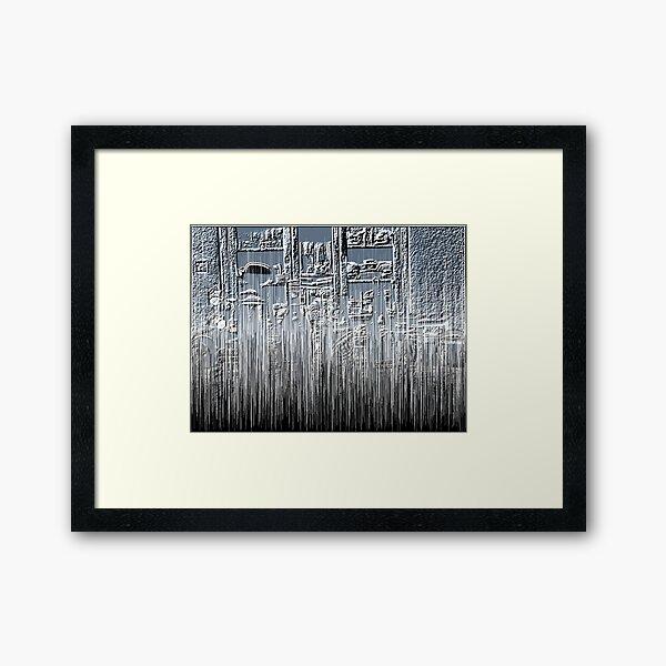 Beaming Kitchen Framed Art Print