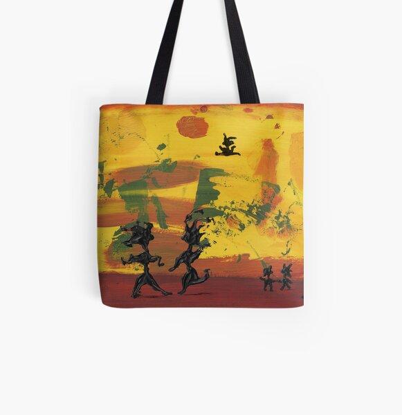 Enjoy Dancing Allover-Print Tote Bag