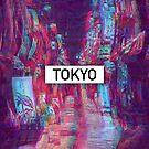 Tokyo Glitch Vaporwave Street (Tokyo) by Glyphz