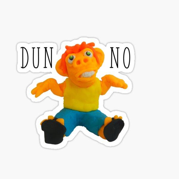 dunno Sticker