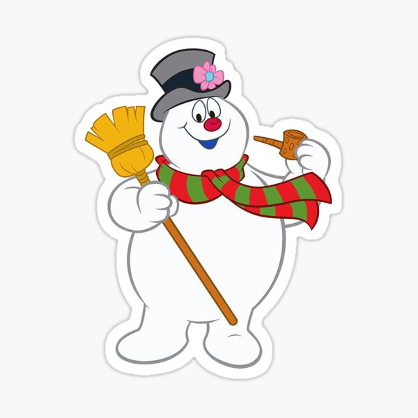 Frosty The Snowman Stickers