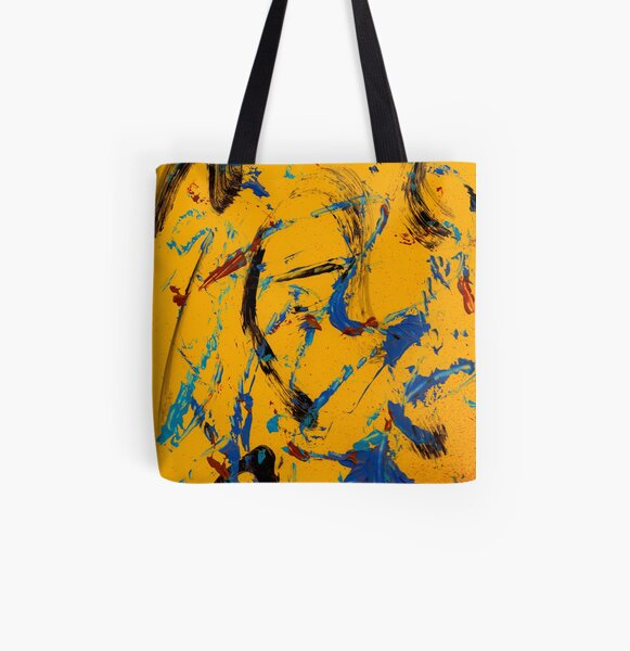 in the shadows but still seen Allover-Print Tote Bag