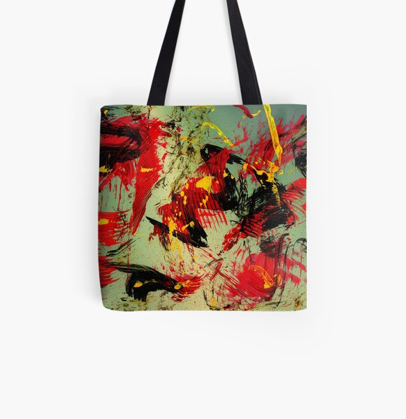 wild times Allover-Print Tote Bag