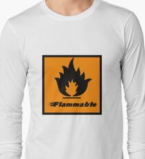 Flammable Long Sleeve T-Shirt