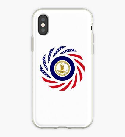 Virginian Murican Patriot Flag Series iPhone Case