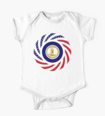 Virginian Murican Patriot Flag Series One Piece - Short Sleeve