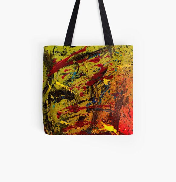 A cook and his soup Allover-Print Tote Bag