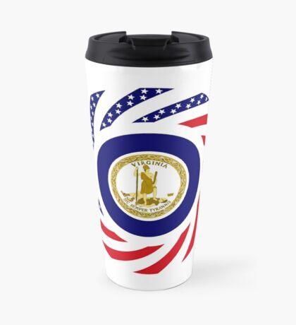 Virginian Murican Patriot Flag Series Travel Mug