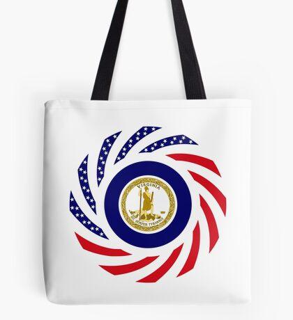 Virginian Murican Patriot Flag Series Tote Bag