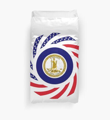 Virginian Murican Patriot Flag Series Duvet Cover