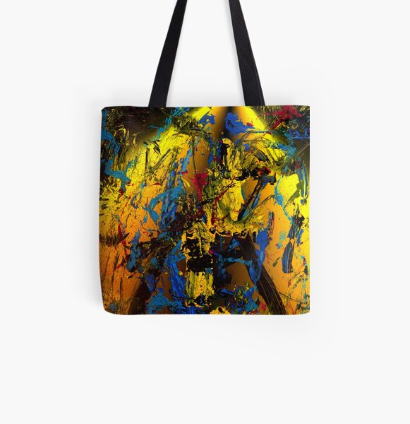 mad; really mad! Allover-Print Tote Bag