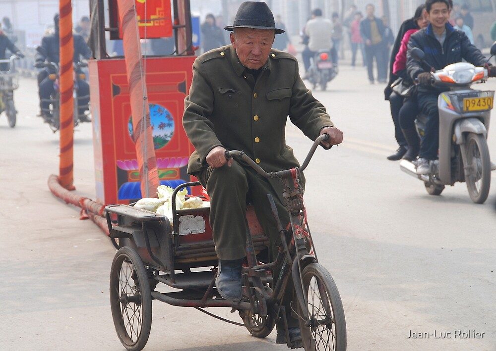 Ping Yao - Cabbage man. by Jean-Luc Rollier