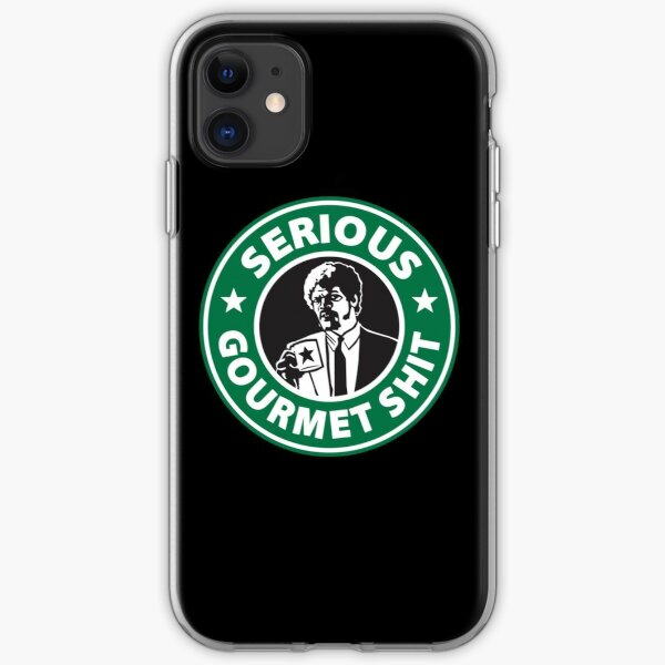 Some Serious Gourmet Coffee iPhone Soft Case