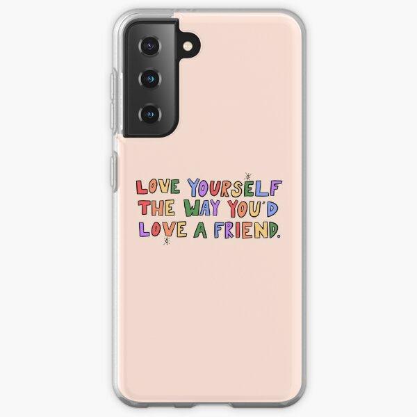 Love Yourself Samsung Galaxy Soft Case