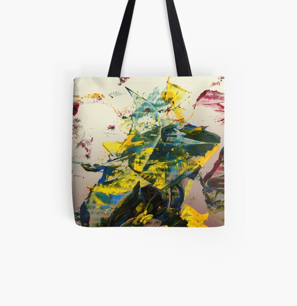 frog at dawn Allover-Print Tote Bag