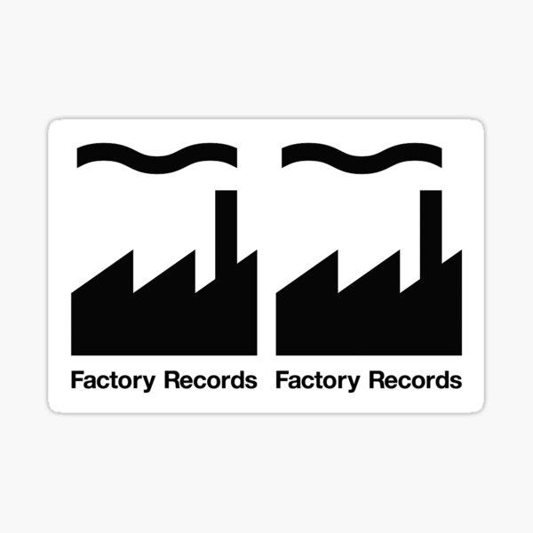 Factory Records Sticker Sticker