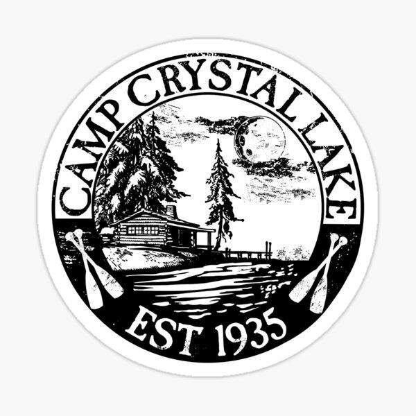Camp Crystal Lake 2019 Sticker