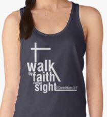Walk by Faith Women's Tank Top