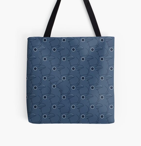 Classy Dots... or Secret Crows? All Over Print Tote Bag