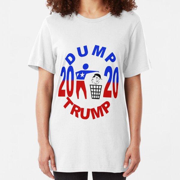 Dump Trump Slim Fit T-Shirt