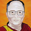 The Dali Lama by RainbowSerpent