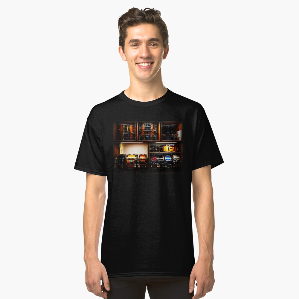 Pretty Snare Drums All In A Row Classic T-Shirt