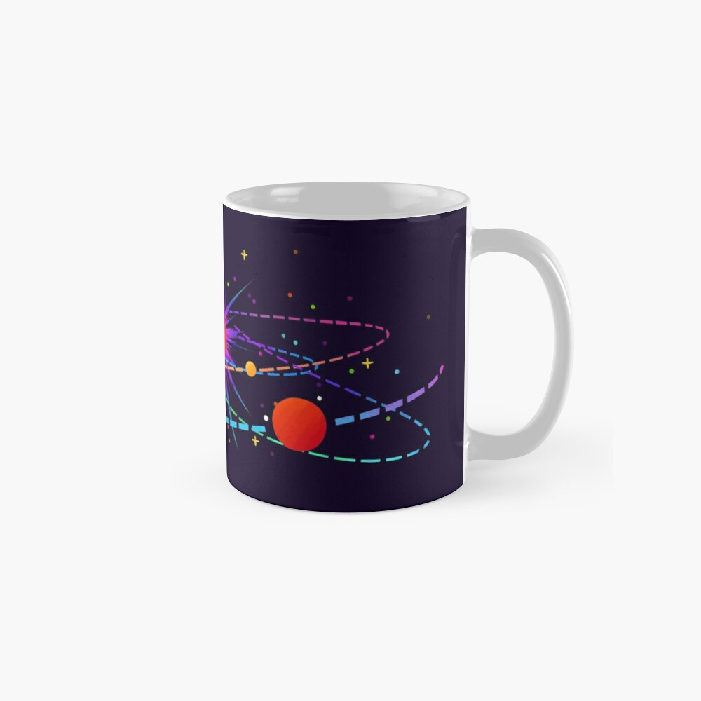 """""""You're Already Part of Something Ridiculous and Wonderful"""" Solar System Mug"""