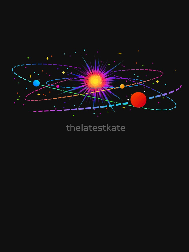 """You're Already Part of Something Ridiculous and Wonderful"" Solar System by thelatestkate"