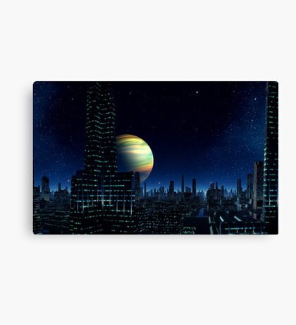 Fall of Night - Crones World Canvas Print