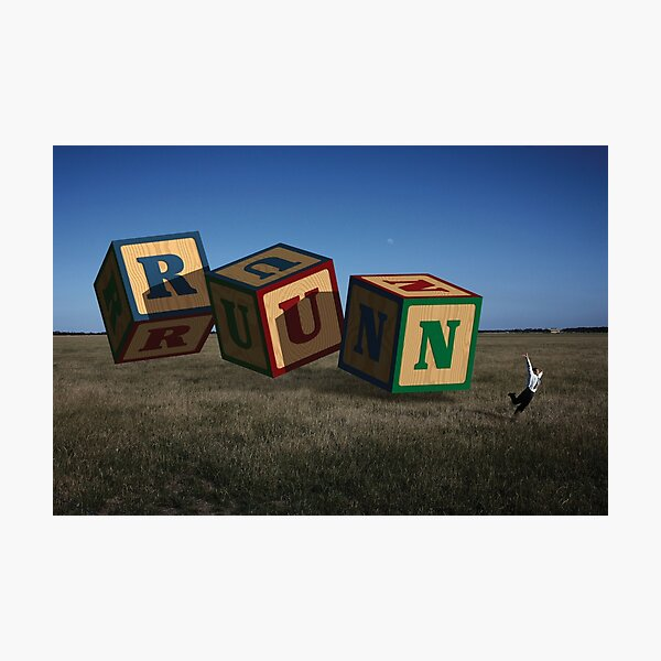 Spelling Flee Photographic Print