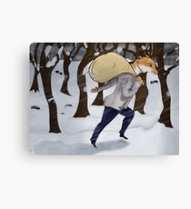 Winter Thief Canvas Print