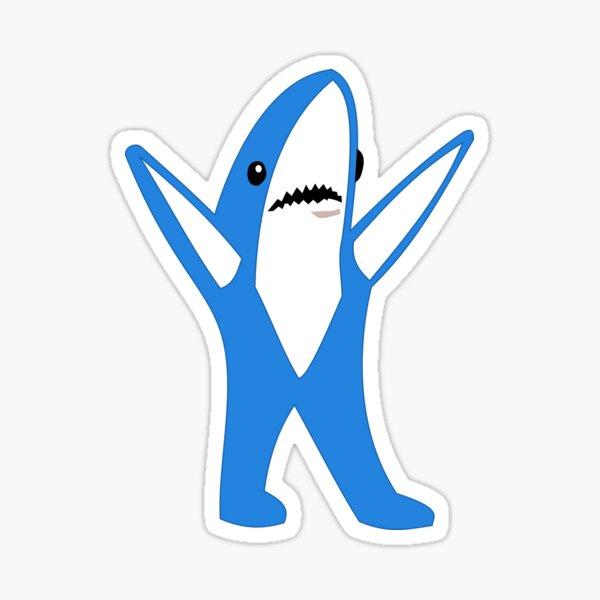 Super Bowl Left Shark Sticker
